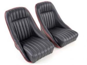 Sportsitz Schalensitz schwarz rot
